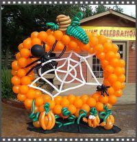 Halloween balloon decoration   Halloween Balloon ...
