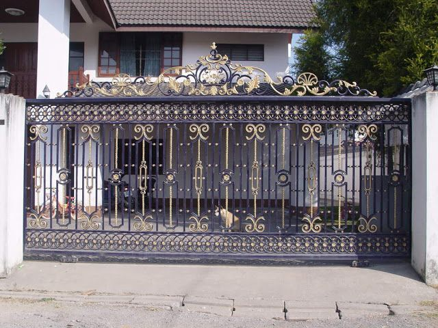 Iron Gates For Reference Kerala Home Gates Pinterest Home