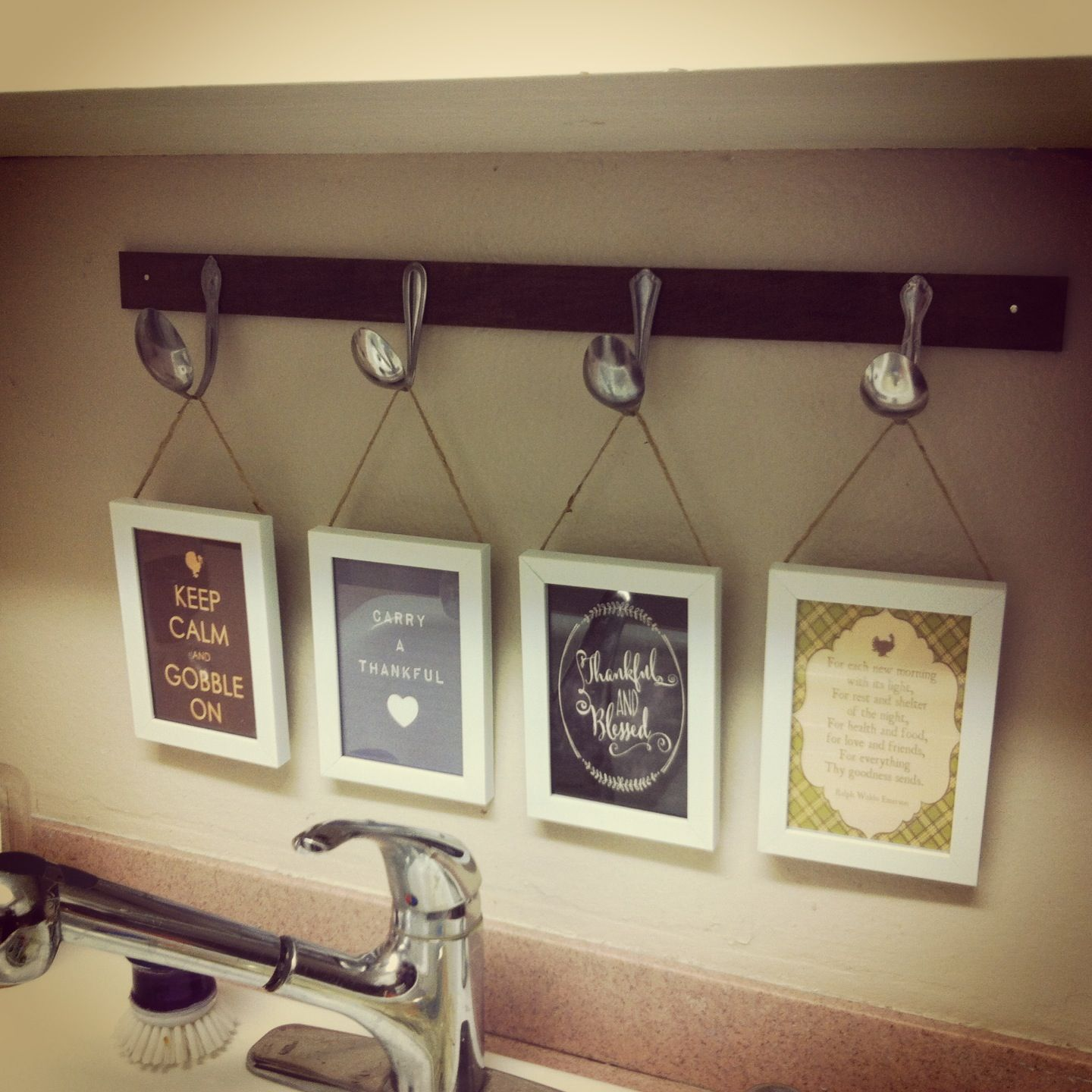 10 DIY Kitchen Decor Project 1 Pine From Home Depot Stained
