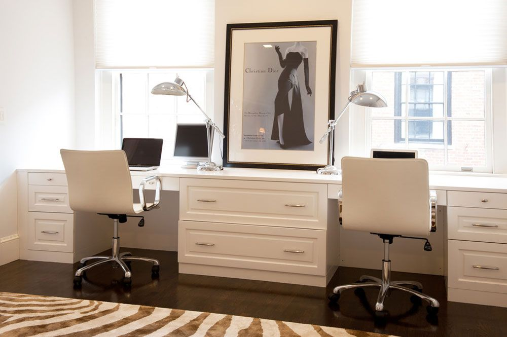 Two Person Desk Design Ideas And Solutions For You  Desks