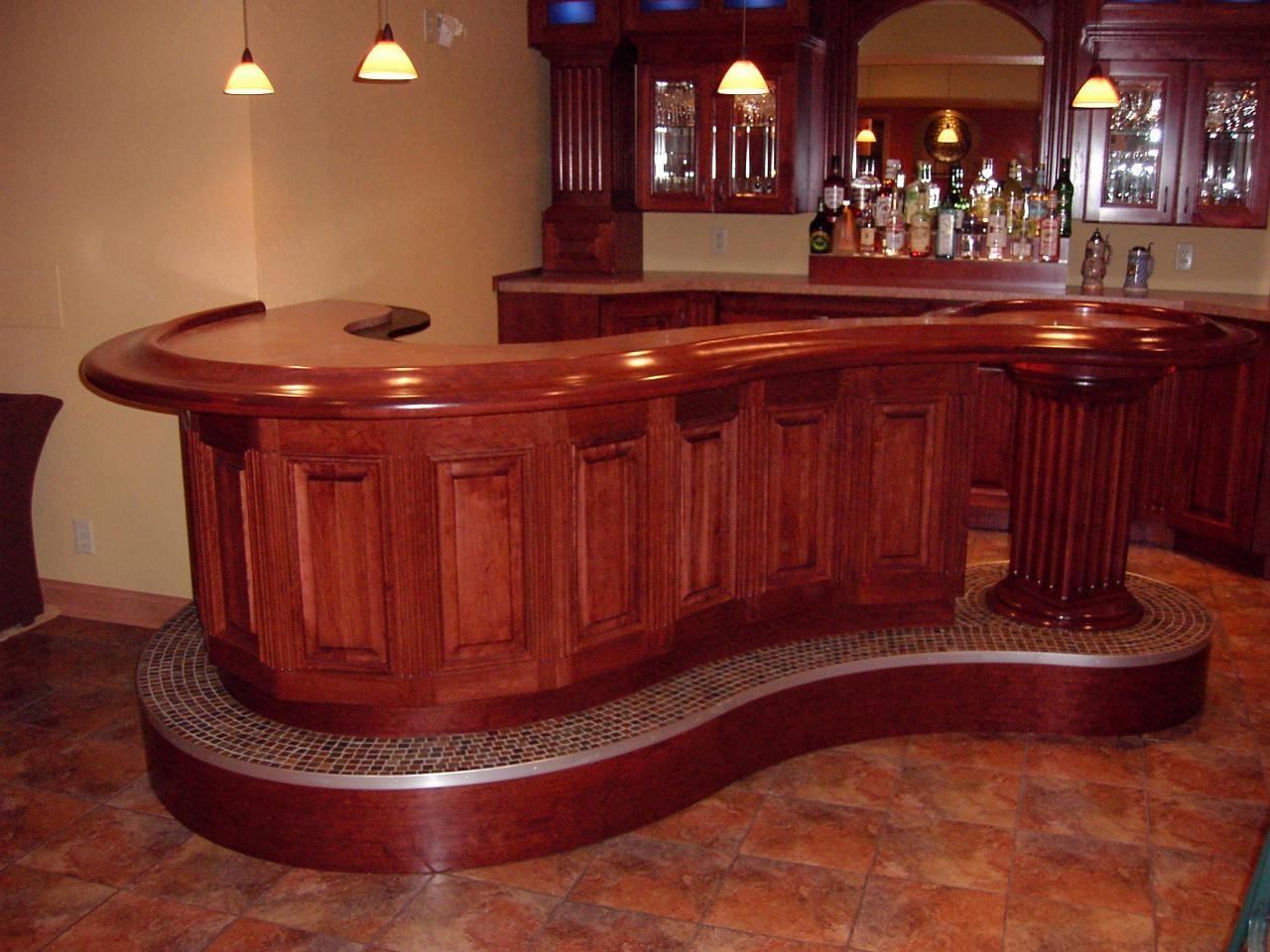 Top 10 Home Bars   Wood bars Bar and Woods