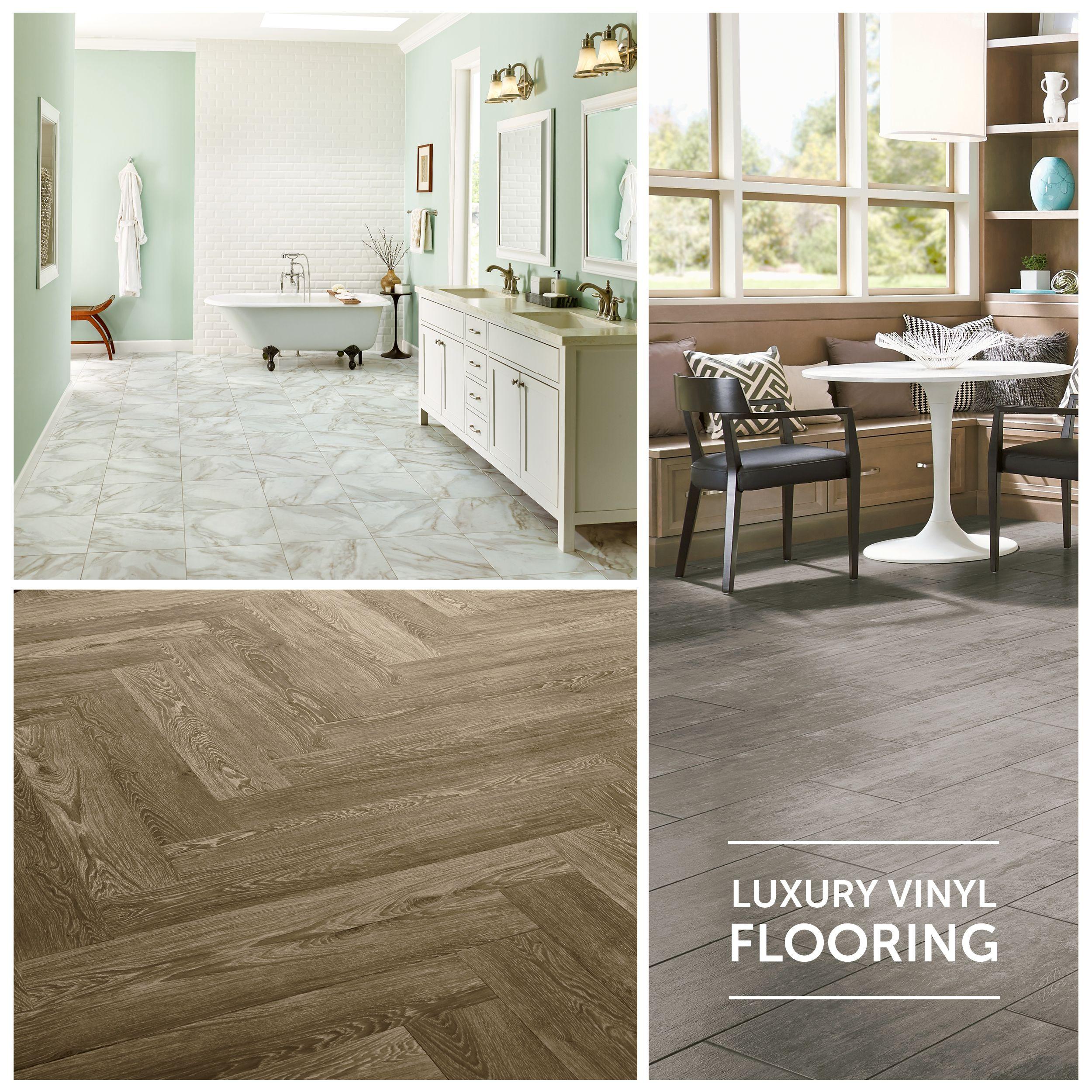 Luxury Vinyl Flooring  Stone  Wood Looks  LVT  LVP
