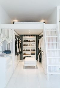 Small Space Living | Raised Platform Bed | Dressing Room ...