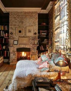maximalist decor say goodbye bored also fireplace in the bedroom le sigh pinterest bedrooms rh