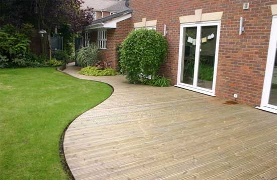 Decking Ideas Garden Decking Ideas For Beginners Gardening