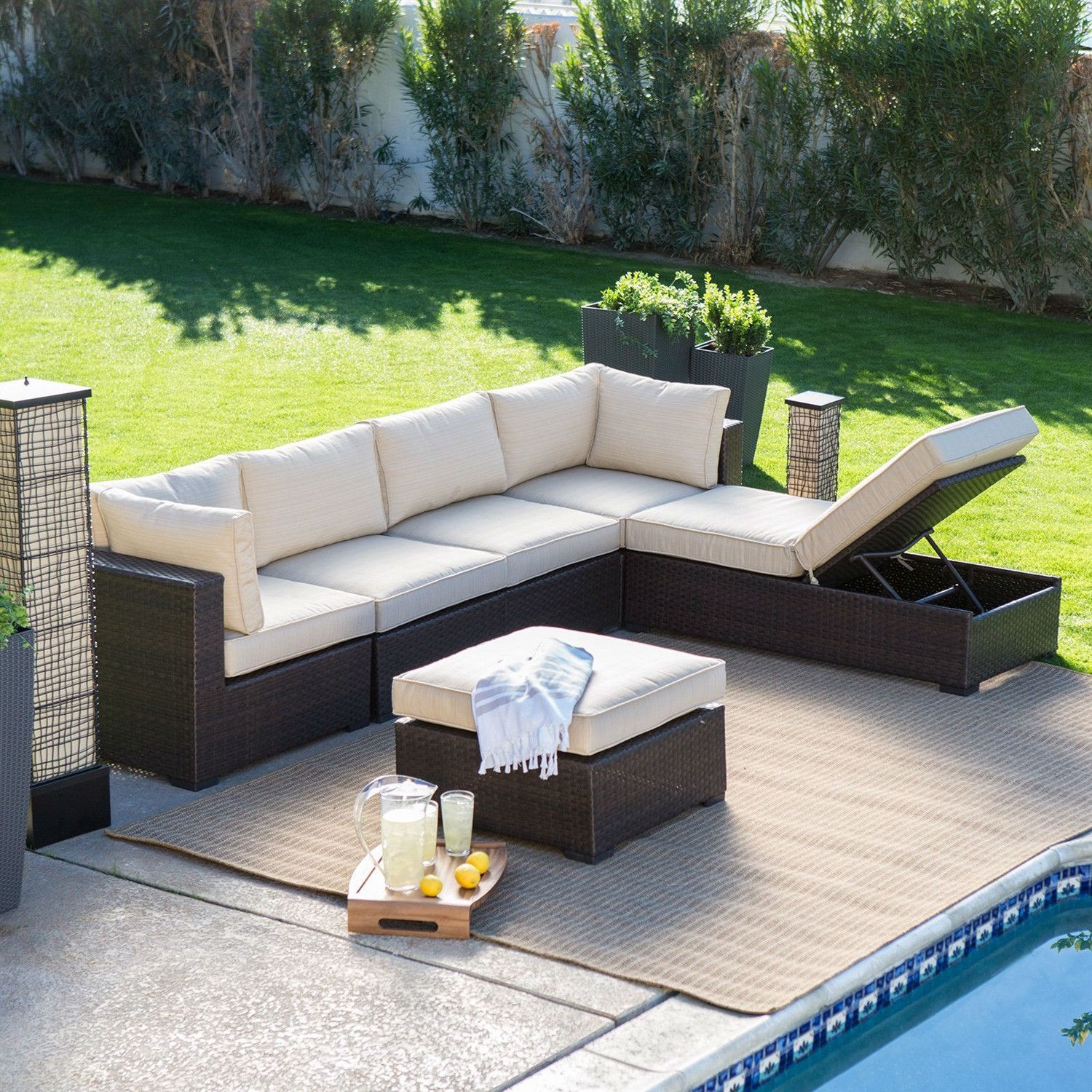 Wicker Patio Furniture Sectional