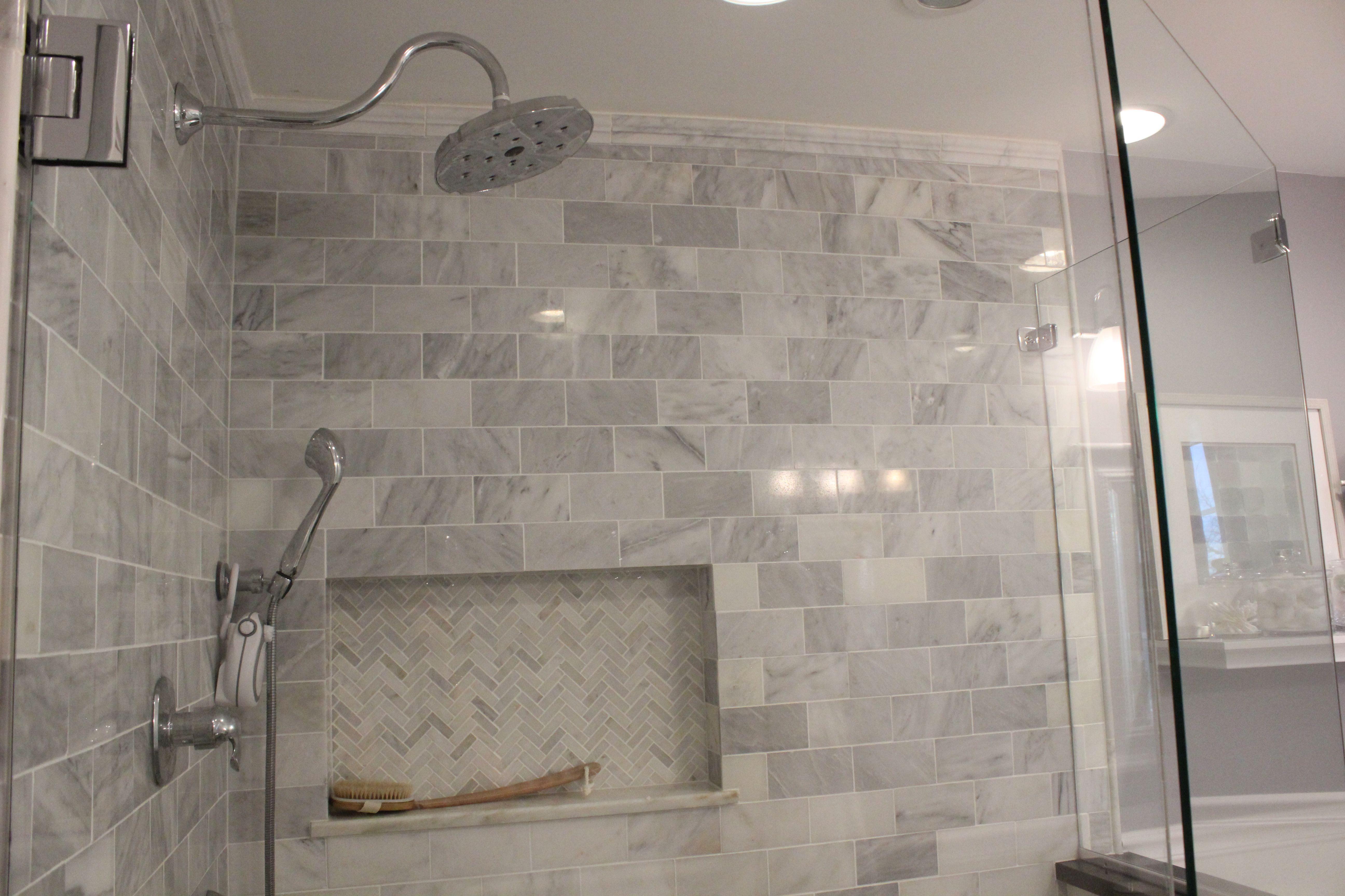 Houzz Bathrooms With Subway Tile