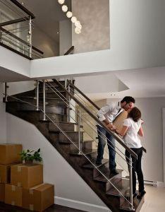 Contemporary staircase by prestige metal also bel escalier alliage bois verre et inox design pinterest rh za