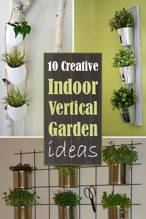 10 Creative Indoor Vertical Garden Ideas Gardens An And Creative