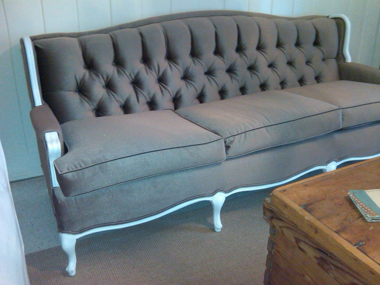 sofa redo pewter table more fabulous reupholstered couches studio decor