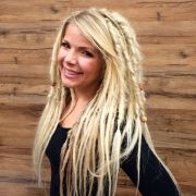 blonde dread extensions kristine
