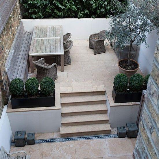 Limestone Terrace Garden Terraced Garden Gardens And Terrace Garden