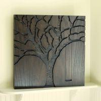 "Rustic Wall Art, Abstract Nature, Modern Wall Art - 23""x23 ..."