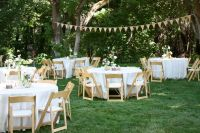 backyard wedding reception decoration ideas | Wedding ...