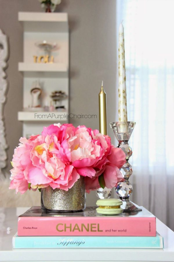 Glamorous Decorations Girly Office Makeup Room