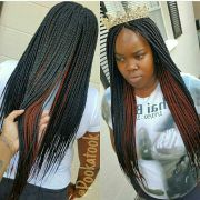 two layer braids hairstyles fade