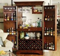 Budget Locking Liquor Cabinet | Bar Ideas | Pinterest ...