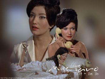 Image result for zena marshall in dr no