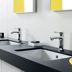 Hansgrohe Kitchen Faucet Remodeling Ideas For Kitchens Metris Single Hole Double Vanity