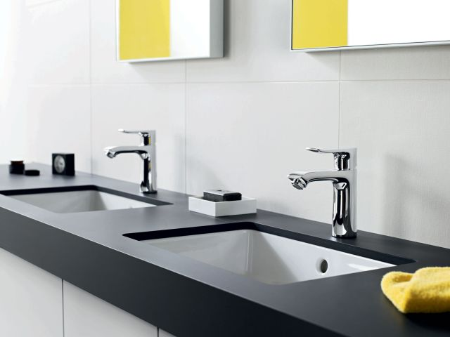 Hansgrohe Metris Single Hole Faucet double vanity