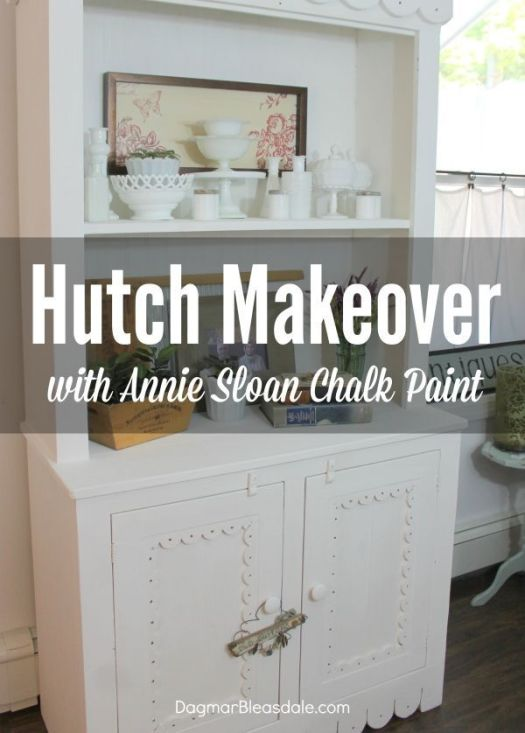 Hutch Makeover With Annie Sloan Chalk Paint