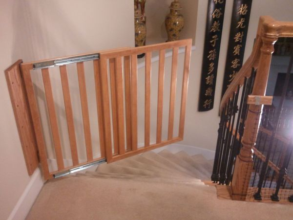 DIY Baby Gate for Stairs