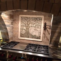 Kitchen Backsplash Murals Sink Repair This Is A Custom 24 Quot X Sculptural Ceramic