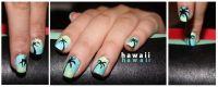 Hawaii Nail art | Nails that I love | Pinterest | Hawaii ...