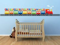 Baby Nursery Baby Boy Wall Decals For Nursery Train Wall