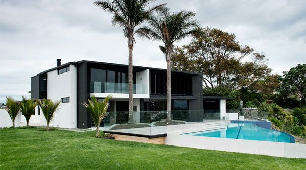Modern And Sophisticated House Design In Auckland New Zealand