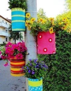 Flower pot idea garden gardening ideas decor decorations gardenng tips crafts also rh pinterest