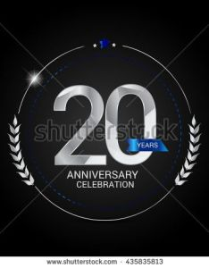 years silver anniversary logo low poly design number stock vector also pinterest  the world  catalog of ideas rh