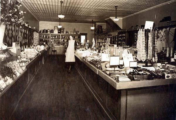 hanging baskets for kitchen white hutch 1950s five and dime stores - bing images | the old ...