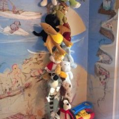 Bean Bag Chair Cost Exercises On Cable Tv Stuffed Animal Storage Idea. Rope And Cloths Pins From Dollar Tree. Cheap Easy. $2.14 ...