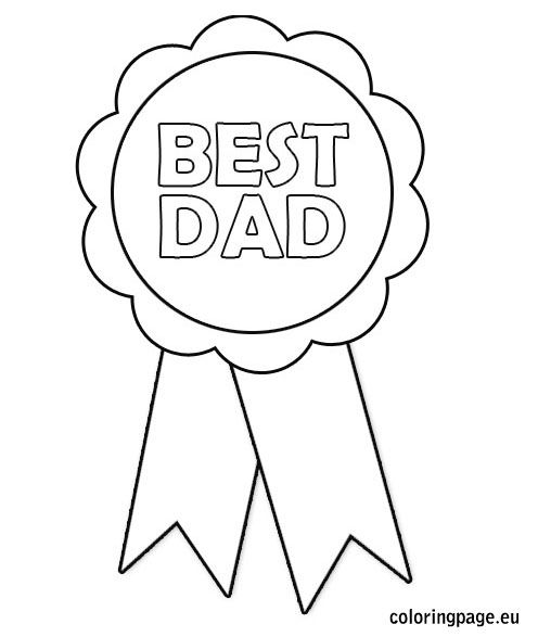 Related coloring pagesHappy Father's Day coloringDad