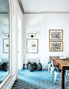 Fashion designer rebecca taylor kicks up her heels in an  park slope brownstone also rh pinterest