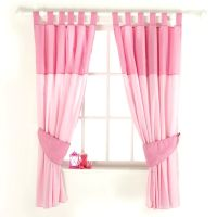 New red kite pink princess pollyanna baby nursery curtains ...