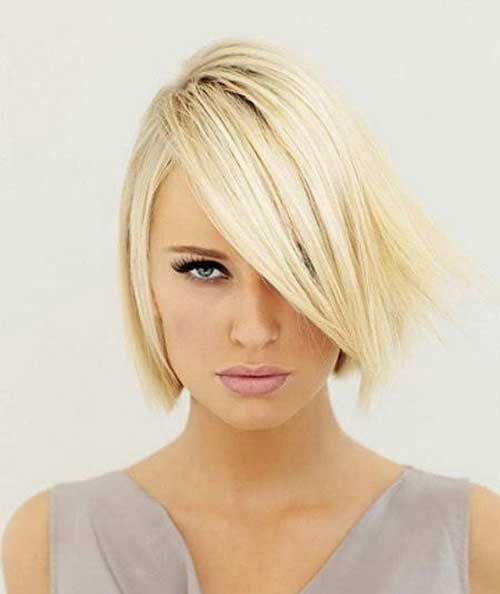 Short Bob Hairstyle For Thin Fine Hair Cabelo Pinterest