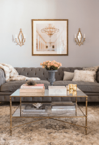 feminine living room in blush and grey | Home | Pinterest ...