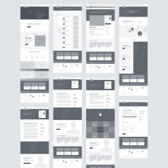 Website Wireframe Diagram Example Leviton 3 Way Switch Best 25 43 Web Ideas On Pinterest Layout
