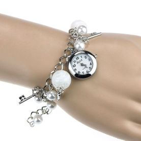 Image result for Pearls and Charms on Wrist