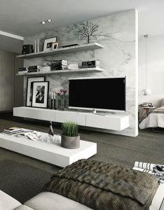 tv wall decor ideas also boquilla decoracion  sala de estar rh co pinterest