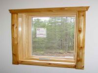 Small Rustic Window Trim