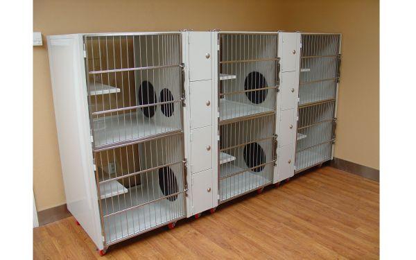 Direct Animal Kitty Litter Units Make Tall Cat Condo