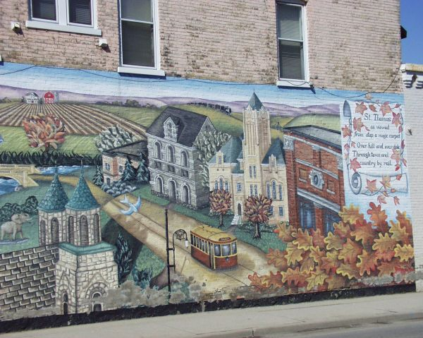 Wall Mural In St. Thomas Ontario Murals Graffiti