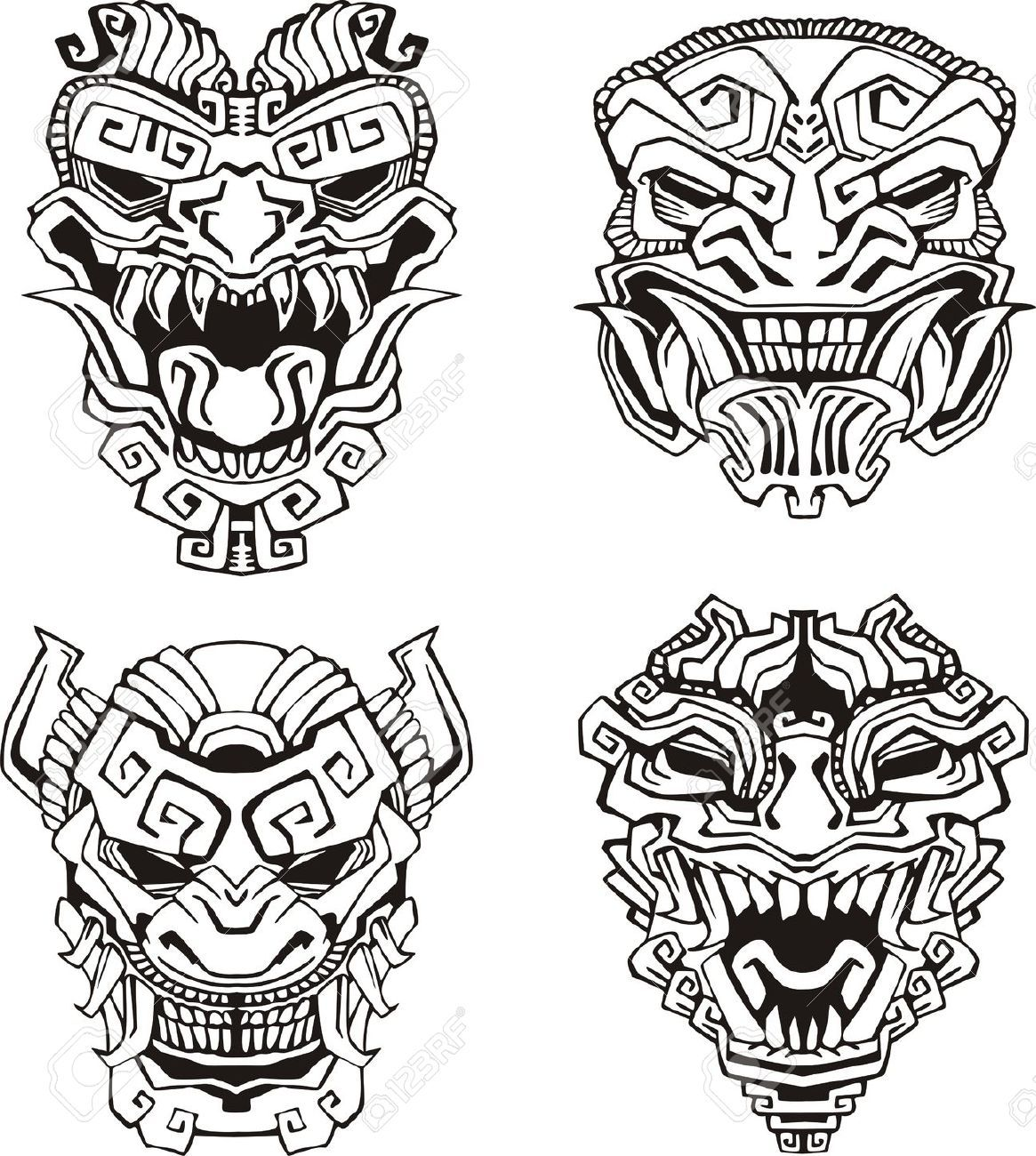 Billedresultat For Witch Doctor Mask