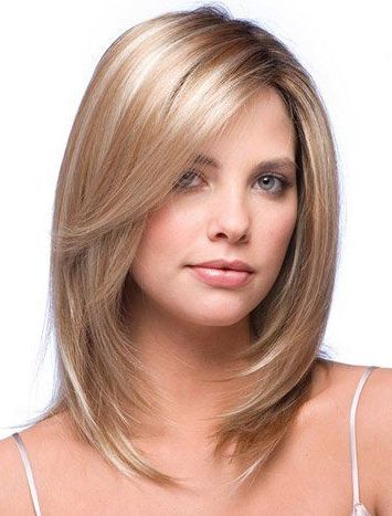 Medium Length Layered Hairstyles For Women Over 50 Medium