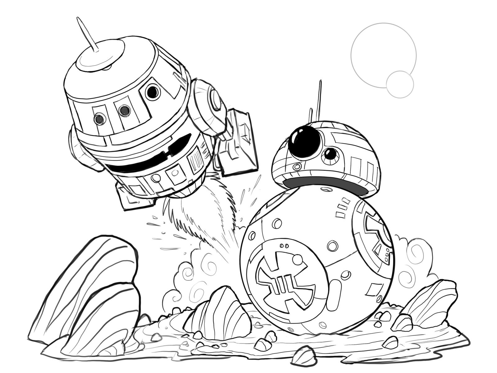 Hera And Chopper Star Wars Rebels Wip By Cartoonstudy On