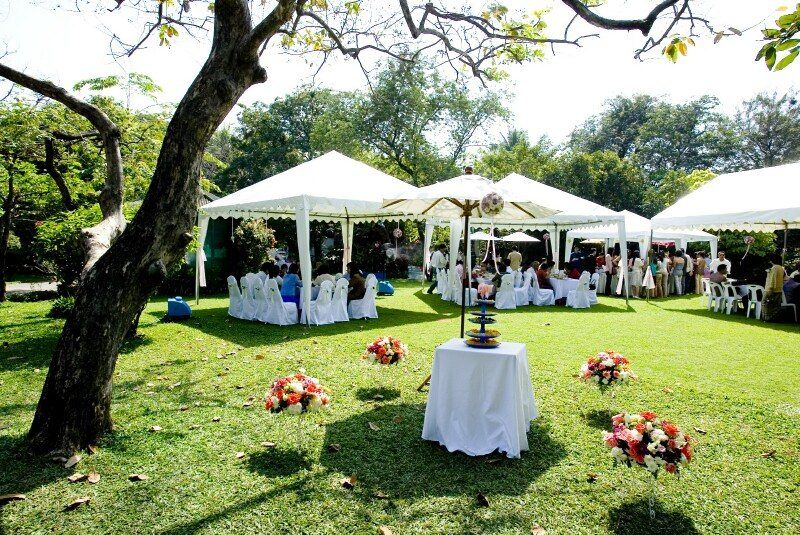 Outdoor Wedding Tent Decoration Tips Church Wedding Decorations