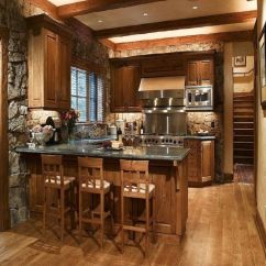 Rustic Kitchen Decorating Ideas Exhaust Fan For Small All Design